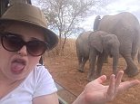 Loving being on safari today in Africa x pic.twitter.com/WQHMCVlsNu