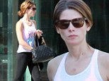 Fresh-faced Ashley Greene displays her trim and toned physique as she hits the shops in her gym gear following a gruelling workout