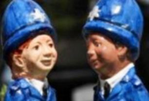 Police in Darlington have recruited a squad of gnomes to fight crime