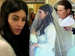 Heartbreak over Rob, Bruce's ponytail debate and a tired bride: Tension mounts for Kim Kardashian in run up to Kanye wedding on KUWTK finale