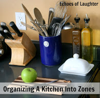 Organizing A Kitchen Into Zones