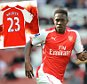mock up welbeck for Arsenal