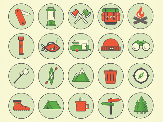 PSD-Freebie-Free-Camping-Outdoor-Icons