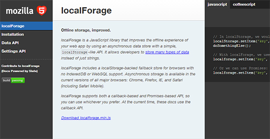 JavaScript-Library-that-Improves-the-Offline-Experience-localForage