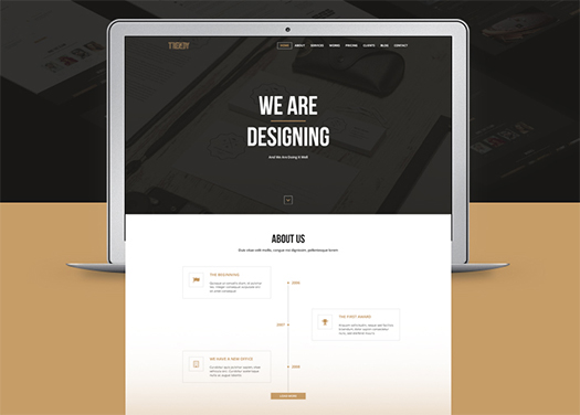 Trendy-Creative-One-Page-PSD-Template