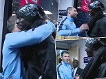 tunnel cam from Man City V Liverpool, 25 august 2014