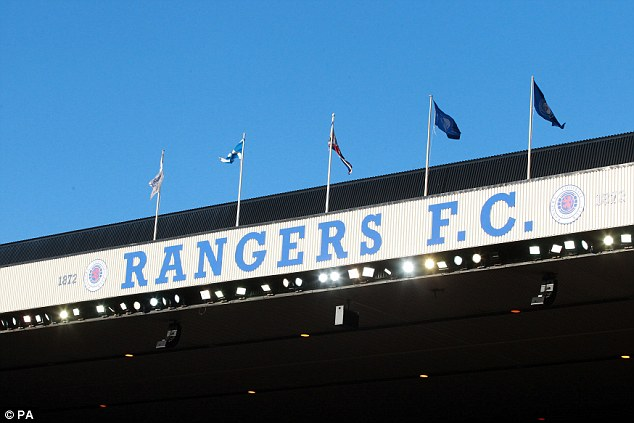 Back on the brink: If the shares issues fails to reach at least £3m then Rangers' future could be uncertain again