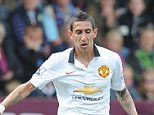 SPT_GCK_300814_Football Barclays Premier League, Burnley V Manchester United, Picture Graham Chadwick. Angel Di Maria