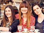 Glamorous: Authors (from left) Audrey Diwan, Caroline de Maigret, Sophie Mas and Anne Berest