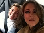 Proud mom Elizabeth Hurley shares sweet selfie with her 'set mascot' son Damian as she gets to work on new series The Royals