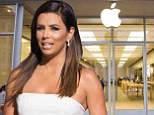 2741552 'Apple employees sent me emails': Eva Longoria claims tech company's store workers accessed her profile to get in touch