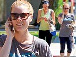 Amy Adams was spotted leaving a workout with a gal pal in Studio City, California on Tuesday. Seemingly makeup-free, the five-time Academy Award nominated actress still had a glow about her as she smiled after her endorphin-inducing training session.