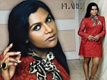 Feeling broody: Mindy Kaling admitted to the October issue of Flare magazine that she is ready to become a mother and wants three children