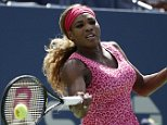 epa04372857 Serena Williams of the US hits a return to Vania King of the US during the fourth day of the 2014 US Open Tennis Championship at the USTA National Tennis Center in Flushing Meadows, New York, USA, 28 August 2014. The US Open runs through 08 September, a 15-day schedule.  EPA/JASON SZENES