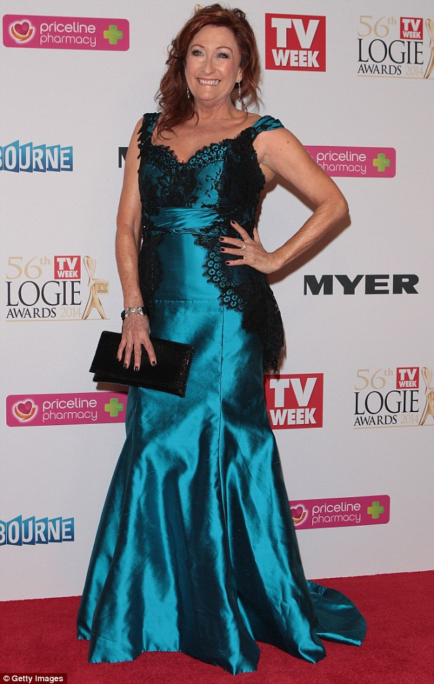 Bringing Summer Bay to the dance floor: Home And Away favourite Lynne McGranger is following the lead of some of her previous costars including Bec Hewitt and Rhiannon Fish who have done quite well on the show
