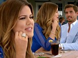 Acting skills: Khloe Kardashian and Scott Disick made cameos as themselves on Tuesday's season finale of Royal Pains