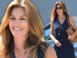 Retail therapy: Cindy Crawford was seen shopping at Saks Fifth Avenue in Beverly Hills, California on Tuesday