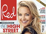 Healthy and happy! Kate Hudson says she'll never have an eating disorder in the newest issue of Red magazine