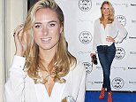 Picture Shows: Kimberley Garner  September 02, 2014    Celebrities arrive at the 'Jeans for Genes' launch party in London to celebrate the annual fundraiser for Genetic Disorders UK.    The charity encourages its participants to wear jeans for the day on September 19th and to make a donation.    WORLDWIDE RIGHTS    Pictures by : FameFlynet UK    2014  Tel : +44 (0)20 3551 5049  Email : info@fameflynet.uk.com