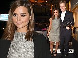 Mandatory Credit: Photo by Richard Young /REX (4090187fe)  Jenna Coleman and Peter Capaldi  GQ Men of the Year Awards in association with Hugo Boss, Royal Opera House, London, Britain - 02 Sep 2014