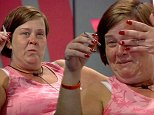 ****Ruckas Videograbs****  (01322) 861777\n*IMPORTANT* Please credit Channel 5 for this picture.\n03/09/14\nCelebrity Big Brother 2014 - Channel 5\nDay 17\nSEEN HERE: White Dee becomes emotional as she tells Lauren Goodger and Ricci Guarnaccio that she loves them late last night\nGrabs from overnight in the CBB house \nOffice  (UK)  : 01322 861777\nMobile (UK)  : 07742 164 106\n**IMPORTANT - PLEASE READ** The video grabs supplied by Ruckas Pictures always remain the copyright of the programme makers, we provide a service to purely capture and supply the images to the client, securing the copyright of the images will always remain the responsibility of the publisher at all times.\nStandard terms, conditions & minimum fees apply to our videograbs unless varied by agreement prior to publication.