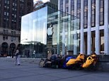 People queing for iPhone 6 already