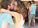 Picture Shows: Gerard Butler  August 31, 2014    ** Min Web Online Fee   400 **    '300' actor Gerard Butler and a mystery woman are spotted having a mini make out session after lunch at D'Amore's Pizza in Malibu, California. Gerard who  recently broke up with Madalina Ghenea has been spotted kissing multiple women lately.    ** Min Web Online Fee   400 **    EXCLUSIVE All Rounder  UK RIGHTS ONLY  Pictures by : FameFlynet UK    2014  Tel : +44 (0)20 3551 5049  Email : info@fameflynet.uk.com