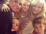 Britney Spears focuses on family after recent split as she shares precious snap with her sister Jamie Lynn and their children