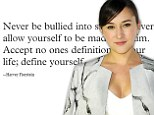 'Never be bullied into silence': Zelda Williams returns to Twitter with a poignant message after quitting due to abuse received following her father's death