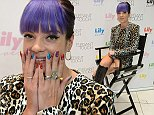 Lily Allen\\nsigns limited edition packs of her nail collection 'Lily Loves' for Elegant Touch at Superdrug Westfield Shepherd's Bush, London.\\n\\n©Ash Knotek  D2874  03/09/2014\\n