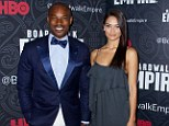 So it's official then? Shanina Shaik and on/off boyfriend Tyson Beckford make a statement about their relationship status as they hold hands at premiere