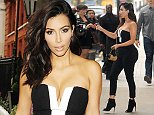 Kim Kardashian pictured at Radio 1 Featuring: Kim Kardashian Where: London, United Kingdom When: 03 Sep 2014 Credit: WENN.com