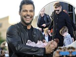 'When she arrives I want to be there': Ricky Martin reveals he is to complete his family with a little girl