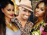Claudia Jordan, NeNe Leakes and Demetria McKinney of the Real Housewives of Atlanta
