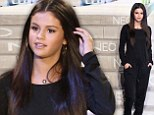 Starting a new trend? Selena Gomez keeps it simple in stylish black top and trousers to host NEO For Adidas fashion show