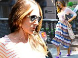 'It was a good season!' Sarah Jessica Parker returns to NYC wearing a chic outfit after celebrating the end of 'summer 2014' with family vacation in the Hamptons