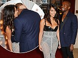 LONDON, ENGLAND - SEPTEMBER 02:  Kim Kardashian (L) and Kanye West attend the GQ Men Of The Year awards in association with Hugo Boss at The Royal Opera House on September 2, 2014 in London, England.  (Photo by David M. Benett/Getty Images)