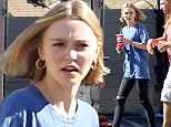Johnny Depp's teenage daughter Lily-Rose gets to work on set of first major movie... alongside her famous father