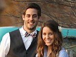 Special announcement: Jill Duggar (right) and Derick Dillard (left) revealed their baby news only eight weeks into their pregnancy