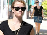 Active: Reese Witherspoon was seen heading to a swimming class in West Hollywood, California on Tuesday