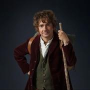 "Martin Freeman as Bilbo Baggins from ""The Hobit"" film series"