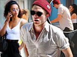 New romance: Robert Pattinson is apparently dating singer FKA Twigs, who he is seen with in New York last week