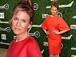 That's better! Renee Zellweger, 45, looks naturally gorgeous at fashion luncheon... a year after showing off a line-free face