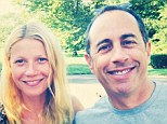 BFFs: Jessica Seinfeld posted yet another snap of pal Gwyneth Paltrow, this time posing with her husband Jerry