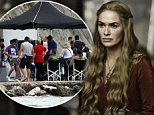 Still of Lena HFilming the 5th season of the HBO's popular show 'Game of Thrones' Featuring: Game of Thrones Where: Split, Croatia