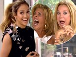 Guess who? Jennifer Lopez surprises Kathie Lee Gifford and Hoda Kotb with an appearance on Today