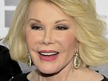 FILE - In this April 30, 2012 file photo, Joan Rivers attends an E! Network event in New York. Joan Rivers? family said the comedian has been moved from intensive care into a private room, where she is ?being kept comfortable.? No further details were released Wednesday, Sept. 3, 2014, on Rivers? condition. On Tuesday, the family confirmed she was on life support at Mount Sinai Hospital in Manhattan after going into cardiac arrest last Thursday. (AP Photo/Evan Agostini, File)