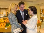Jeff Moore 04/09/14 THIS PICTURE IS FREE TO USE Bianca Jagger and Jerry Hall  with Ewan Venters �at the after party for the launch of Armand Leroi's new book, The Lagoon: How Aristotle Invented Science. The party was hosted by Fortnum & Mason in the 1707 Wine Bar.