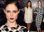 Coco Rocha and Alexa Chung lead the fashion pack at the star-studded pop-up store launch for designer Christian Siriano's debut fragrance, Silhouette