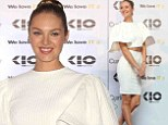 Candice Swanepoel is famous for being apart of Victoria's Secret exclusive group of Angels. And on Wednesday the 25-year-old model was looking like an actual ethereal being in a two-piece ensemble with sleeves that seemed to be inspired by angel's wings